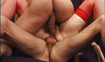 TRUE ANAL Rina Ellis tiene el culo estirado y fakings intercambio parejas creampie